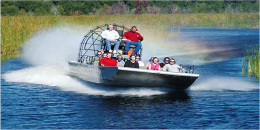 See Louisiana With A Fan Boat Swamp Tour In New Orleans