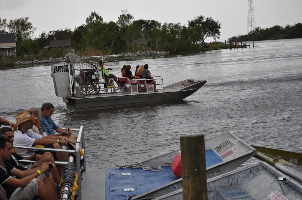 Exciting airboat ride through Louisiana's swamps, airboat tours in new orleans