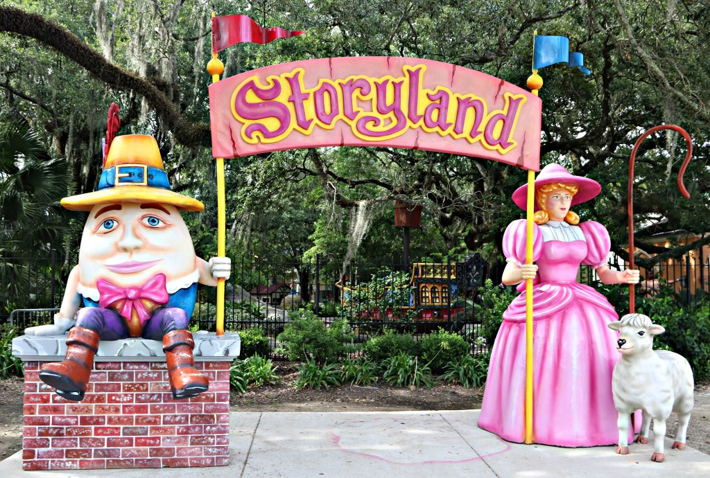 storyland in city park, new orleans family adventures