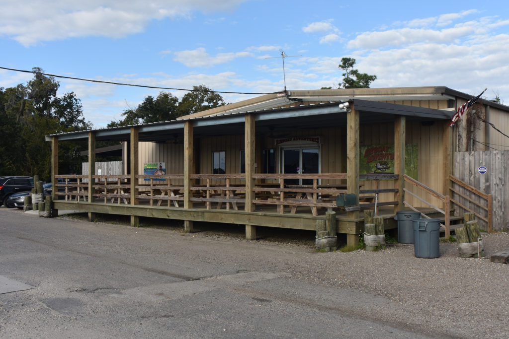 the patio at airboat adventures new orleans