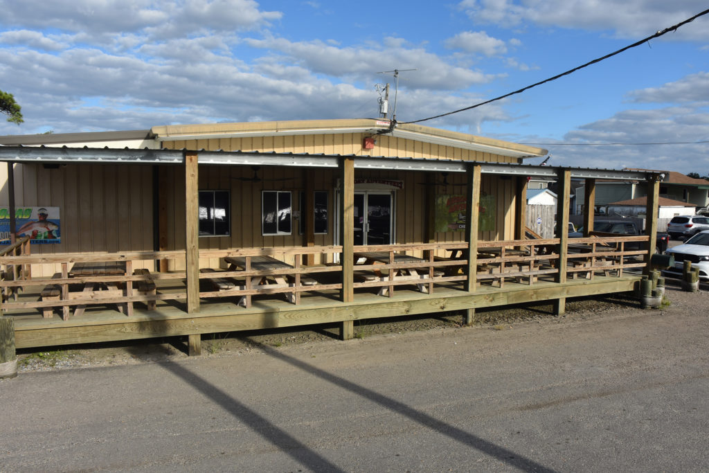 the front porch at airboat adventures