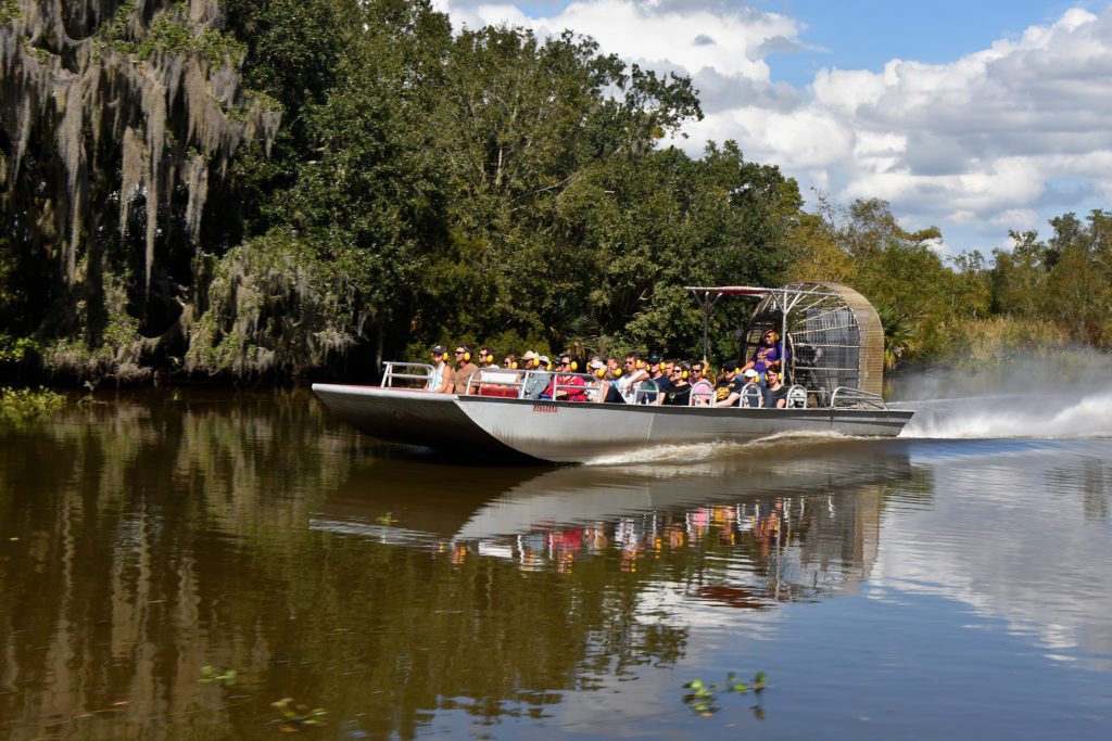 Large Airboat Adventure